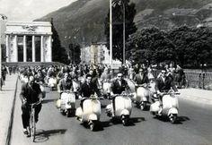 Raduno vespistico - Bolzano 1956