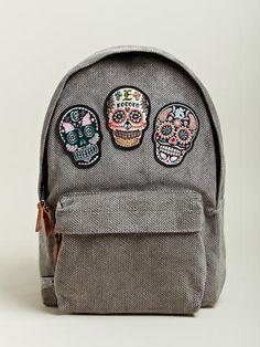 EOTOTO Men's Skull Back Pack