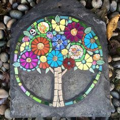 "Mosaic Art Diverse City Series piece by ringmosaics on EtsyHouse mosaics on stairs create streets!""Around the Town"" - as I call it - mosaic - Salvabrani Mosaic Tile Designs, Mosaic Tile Art, Mosaic Artwork, Mosaic Patterns, Mosaic Birdbath, Mosaic Garden Art, Mosaic Flower Pots, Mosaic Rocks, Stone Mosaic"