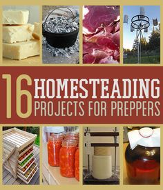 16 Cool Homesteading DIY Projects For Preppers This one actually looks decent and safe.