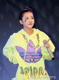 Dara 2NE1 Adidas World Cup Event