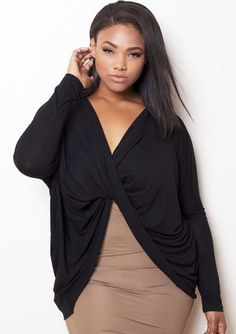 294e4b477ef60 rebdolls black draped cardigan Drape Cardigan