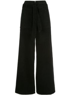 Opening Ceremony High In Black High Waisted Palazzo Pants, Black Palazzo Pants, Black Pants, Opening Ceremony, Cargo Pants, Black Cotton, Women Wear, Casual, Model