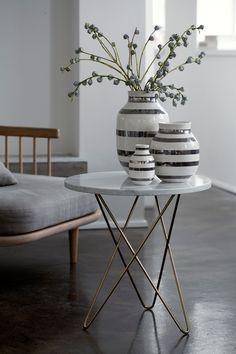 Køb Kähler - Omaggio Vase Sølv - Medium - Interiør - Coolshop.dk