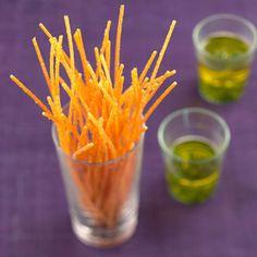 Spaghettis frits au basilic : la recette facile