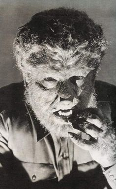 The Wolfman played by Lon Chaney Jr
