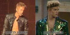 Looks like Saved by the Bell nailed it.