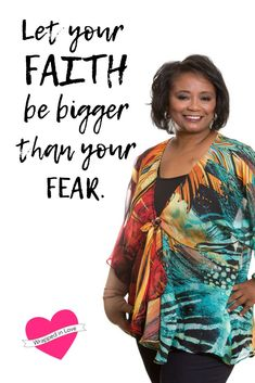 Let your faith be bigger than your fear. Cancer Survivor Quotes, Breast Cancer Quotes, Hospital Bag Essentials, Gifts For Cancer Patients, Fear Quotes, Ovarian Cancer Awareness, Breast Cancer Support, Hot Flashes, Cancer Treatment