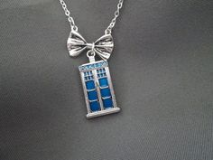 Dr Who Bow Ties are Cool Necklace by BeadedDesignsJacquie on Etsy, $20.00 Dr. Who Necklace