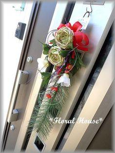 Floral houseオリジナル お正月飾りアーティフィシャルフラワー(造花)でお正月飾りを作りました。毎年恒例の人気作品です生花ではなかなか見かけない色...|ハンドメイド、手作り、手仕事品の通販・販売・購入ならCreema。