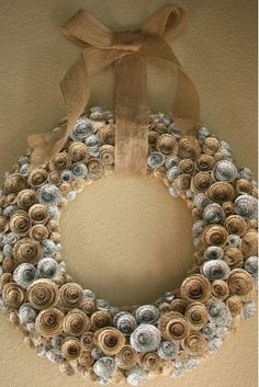 For next Christmas! This could be made out of seashells for someone who lives near the beach... hint...hint...