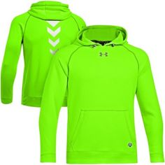 b003261f5 Under Armour NFL Combine Authentic Infrared Pullover Performance Hoodie -  Green. Green Bay Packers ...