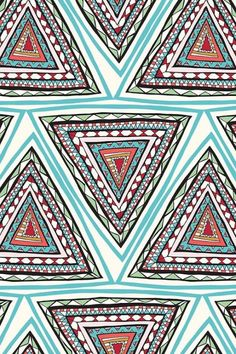 Print pattern triangle