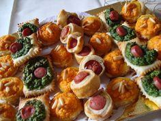 La buona cucina di Katty: Salatini rustici vari con zucca, spinaci e wurstel