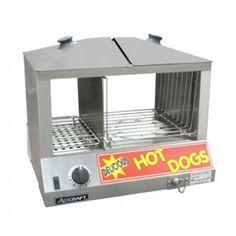 AdCraft Stainless Steel Hot Dog Steamer Display Case Warmer HDS-1200W
