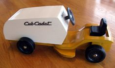 Pinewood Derby Car (lawnmower)