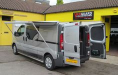 Renault Trafic With The Fiamma Awning