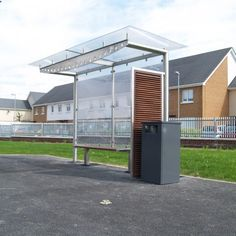 Corrib Bus Shelter | Larkin Street Products Manufacturers in Ireland and the UK
