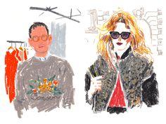 Damien Florebert Cuypers – Paris Fashion Week SS13 for T