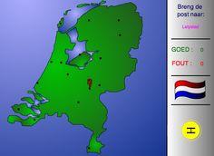 Topografie van Nederland
