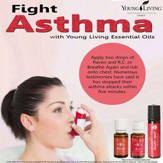 Asthma:  RC + Raven + Breathe Again