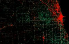 Stunning Maps of 3 Billion Tweets Reveal iPhone vs. Android Neighborhoods | Wired Design | Wired.com