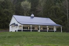 morton buildings | Featured Project: Home, Horse Barn & Hobby Combo #equestrian