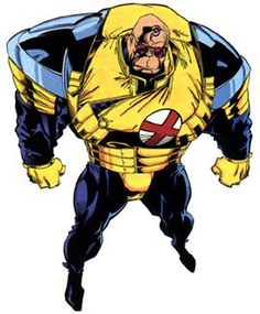 Strong Guy is the alias of Guido Carosella, a fictional character in the Marvel Comics universe. He was created by Chris Claremont and Bill Sienkiewicz and first appeared in New Mutants (July Marvel Rpg, Marvel Comics, Marvel Comic Universe, Marvel Comic Books, Comics Universe, Marvel Characters, Marvel Heroes, Comic Books Art, Comic Art