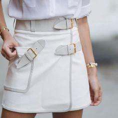 Derek Lam's utility wrap skirt, shop it on Moda Operandi now!