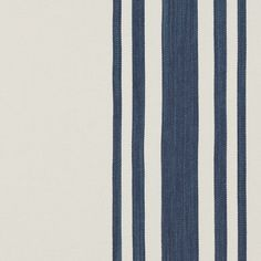 Eden Roc Stripe – Denim - La Plage - Riviera - Fabric - Products - Ralph Lauren Home - RalphLaurenHome.com