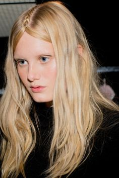 The Braids of Milan Fashion Week: Brightly Woven, Turned Inside Out, and Flipped on Their Heads – Vogue - Giamba