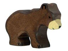 Holztiger Holzfiguren Abenteuer Wildnis