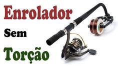 ENROLADOR de LINHA de PESCA s/ TORÇÃO no MOLINETE ◆  Fishing Line Spoole...