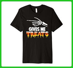 Mens Halloween Couples Costumes T-shirt Treats 2XL Black - Holiday and seasonal shirts (*Amazon Partner-Link)