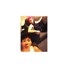 Michael Clifford ❤ liked on Polyvore featuring 5sos, calum hood and michael clifford