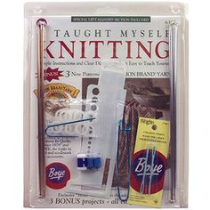 Beginners Knit Kit awesome at walmart