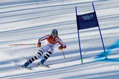 Alpine Skiing - Women's Super-G - Maria Hoefl-Riesch - Germany - Silver Medallist