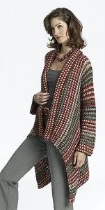 Asymmetrical Jacket and more gorgeous and FREE crochet cardigan patterns! Make them all for the prefect sweater wardrobe! {mooglyblog.com}