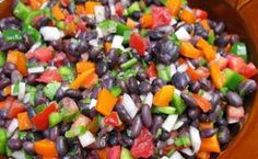 RAINBOW BEAN AND WHOLE GRAIN WINTER SOUP - This flavorful, hearty soup ...