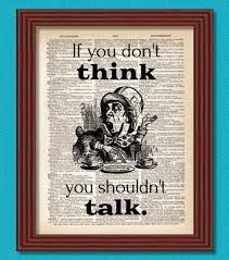 if you don't think you shouldn't talk - Google Search