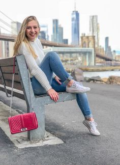 Converse Style, White Converse, Converse Fashion, Red Bags, Third Way, White Sweaters, Chanel Boy Bag, Your Style, I Am Awesome