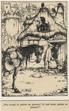 View De marskramer 2 others 3 works by Anton Pieck on artnet. Browse upcoming and past auction lots by Anton Pieck. Anton Pieck, Drawing Studies, Spirited Art, Dutch Painters, Realistic Paintings, Black And White Drawing, Dutch Artists, Artist Gallery, Ink Art