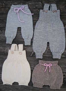 Diy Crafts - Ravelry: Baggy Baby pattern by By Amstrup Baby Sweater Knitting Pattern, Baby Knitting Patterns, Baby Patterns, Knit Baby Pants, Baby Vest, Baby Baby, Child Baby, Baby Toys, Baby Girls