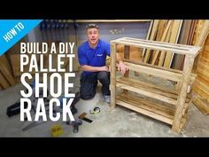 Pallet Shoe Rack Instructions Easy Video Tutorial And Plans
