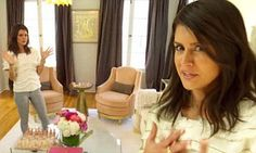 Rich Kids of Beverly Hills' Roxy Sowlaty gives a tour of her posh apartment | Daily Mail Online