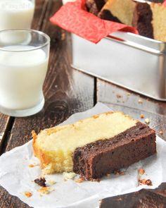 Bizcocho con brownie - L´Exquisit