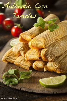 Authentic Corn Tamales Recipe! This recipe is amazing and perfect for big crowds too! If you like Authentic Mexican food then you'll love these!