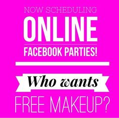 Looking to get #free #makeup? Contact me to host a party! You sit back and I do all the work. #beauty #makeupaddict