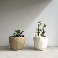 Diamond pots by Stine Dulong for SkandiHus