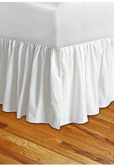 Lilly White Bedskirt - Online Only - Belk.com